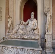 Statuaire Divinités fluviales Rome Arno Vatican