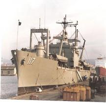 Amphibious Cargo ship USS El Paso LKA 117 Marseill