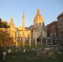 Rome Rione Campitelli Forums Impériaux 5 Forum Trajan Colonne Trajanne