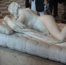 Statuaire Rome Hermaphrodite Endormi Borghese Paris