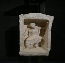 7 Rome Stèle Funéraire Sculpteur Replica Pont du Gard Bordeaux