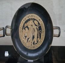 Falisques Céramique Kilix Amoureux Rome MNE