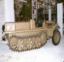 Sd.Kfz 10 leichter Zugkraftwagen  mit 1t Saumur