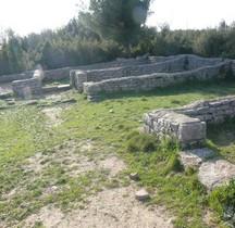 Hérault Villetelle  Ambrussum Quartiers Hauts