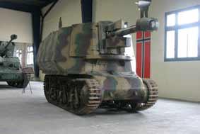 Automoteur 10.5cm LEFH18(Sf) auf Gw 39H(f)