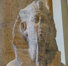Egypte Pharaon 13e Dynastie 13 Khâneferrê Sobekhotep III ou IV Louvre