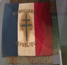 2°GM 1944 Fanion Voiture Commissaire République Paris Musée Armée