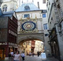 Seine Maritime Rouen Gros Horloge
