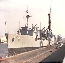 Naval auxiliary ship USS Kalamazoo (AOR-6)