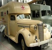 Nash Ambassador1937  Six Ambulance Bata Duxford