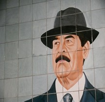 Irak Umm Qsar Portrait Saddam Hussein IWM