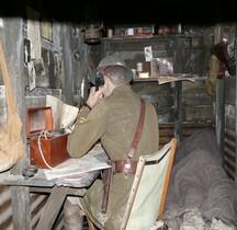 1914 Tranchée Anglaise Abri Officier