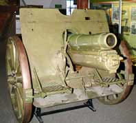 Obusier 12 cm leFH 08 Rheinmetall  M1908 L 15.5