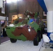 Ukraine  BTR 4 Parus Eurosatory 2012