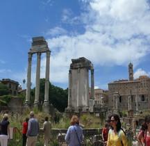 Rome Rione Campitelli Forum Romain Temple de Castor et Pollux
