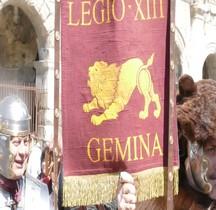 Vexillum Legio XIII Gemina Nimes 2016
