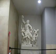Statuaire Grèce Hellenistique Groupe Laocoon Version Montorsoli Pré 1957 Copie Vatican