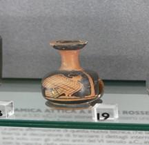Grèce Céramique Lécythe Aryballisque Sphynx  Bologne
