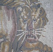 Mosaïque Rome Allemagne Nenning  Mosaique Jeux Amphithéatre