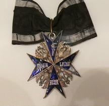 1740 pour le Mérite