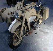 Zündapp Schweres Krad mit Beiwagen KS 750 Saumur