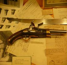 1786  Pistolet Marine Manufacture deTulle  Salon