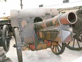 Obusier 15 cm schwere Feldhaubitze 13