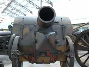 Obusier 15 cm schwere Feldhaubitze 13 Bruxelles
