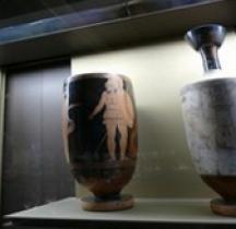 Grande Grèce Campanie Céramique Lébès Gamikos  Louvre