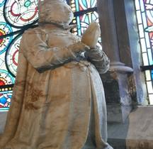 Seine St Denis St Denis Basilique.Marie de Bourbon Vendome  Statue