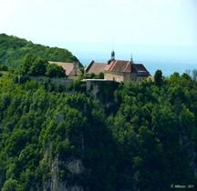 Jura Salins les Bains Fort St André