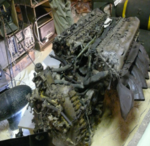 Moteur Rolls Royce Merlin XX Viervilles