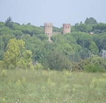 Rome Mura del URBS Rome Mura Aureliane Rione Saba Porta San Sebastiano Exterieurs