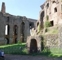 Rome Rione Campitello Palatin Arcate Severiane