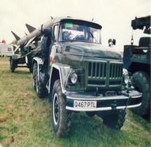 Missile Sol Air SA 2 Guideline S75 Dvina Tracteur Zil 131V Royaume Uni