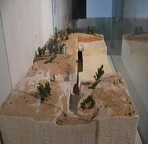 Bouches du Rhone Fontvieille Hypogees Hypogée du Castelet Maquette