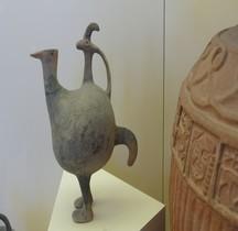 Etrurie Céramique Askos Forme Oiseau Rome MNE