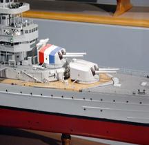 Croiseur Algérie ( maquette )