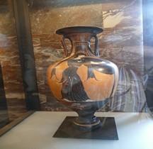 Grèce Attique Amphore Panathenaïque Paris Louvre