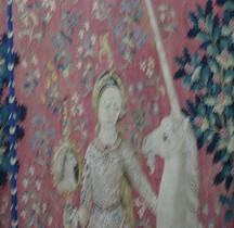 1 Tapisserie Médieval Tapisserie  Dame à la Licorne Paris Musée de Cluny