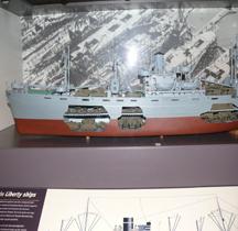 Liberty Ship SS Robert E Peary Maquette Bruxelles