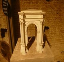 Lybie Leptis Magna Arc de Triomphe de Trajan Mkt Rome EUR