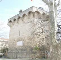 Hérault Montpellier Enceinte Tour des Pins
