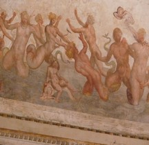 Rome Rione Borgo Mausolée Hadrien Castel San Angelo  Intérieur Rennaissance