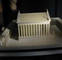 Rome Rione Campo Marzio Temple d' Hadrien Maquette