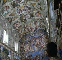 Rome  Vatican Chapelle Sixtine