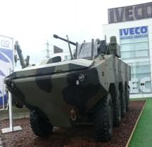 Iveco VBA (Veicolo Blindato Anfibio)  Eurosatory 2