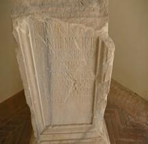 Pouvoir Epigraphie Base Autel Voltinius Saloninus Ferrare
