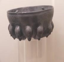Etrurie Ceramique Phiale Bucchero Rome MNE