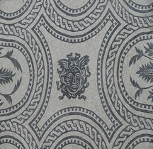 Mosaïque Rome Italie Bologne Mosaïque Monochrome  Bologne Museo Civico